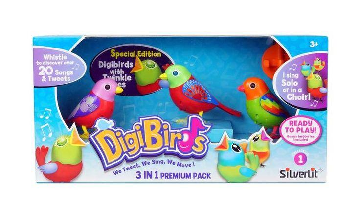 Poze Set trei pasari interactive DigiBirds - varianta 2
