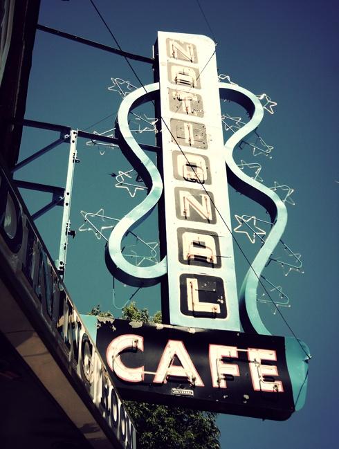 National Cafe - Moose Jaw, Sask.