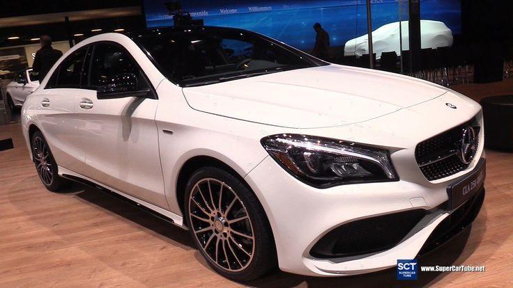 2017 Mercedes Cla Class Cla 250 4matic Coupe Exterior Interior
