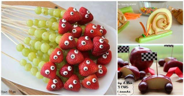 Ευφάνταστες ιδέες για να τρώνε τα παιδιά πιο υγιεινά!