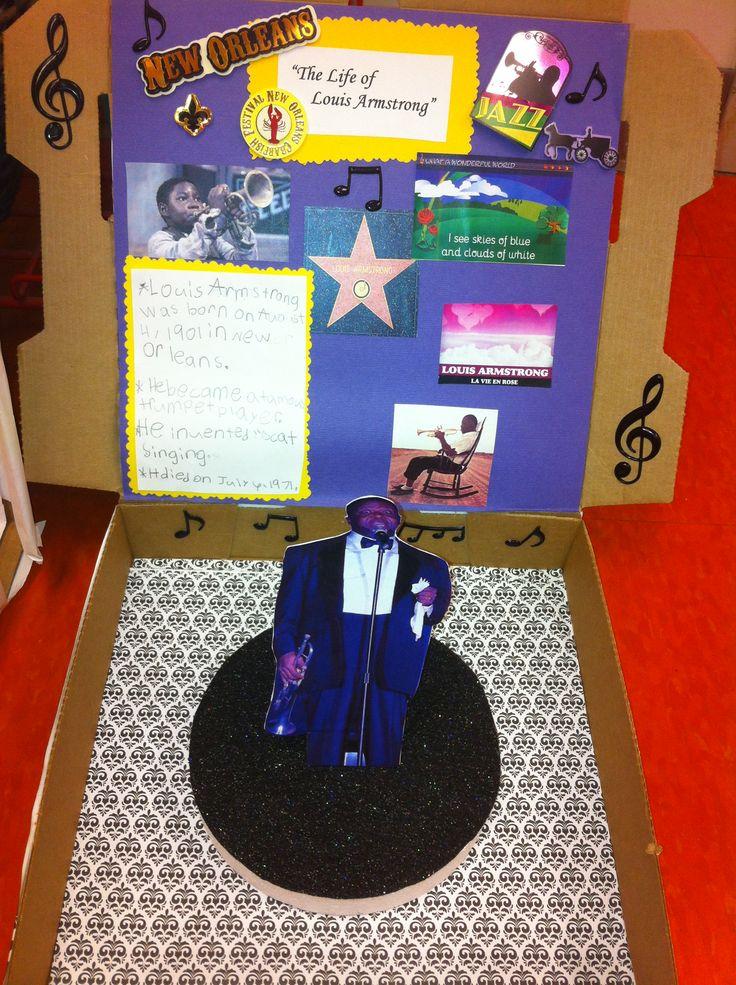 Shoe Box Black History Project Idea