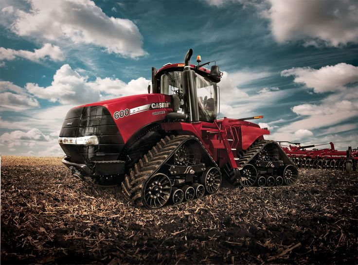 The Case IH STEIGER QUADTRAC 600 - What a beast