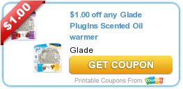 Over $7 in New Glade Coupons – FREE at Walgreens & More!