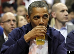 Obama is a big enough fan of his White House beer (and beer in general) that he's now carrying it on the campaign bus and occasionally handing out bottles of it. While it may in fact be a great brew, we don't really know for sure since most of us have never tried it.