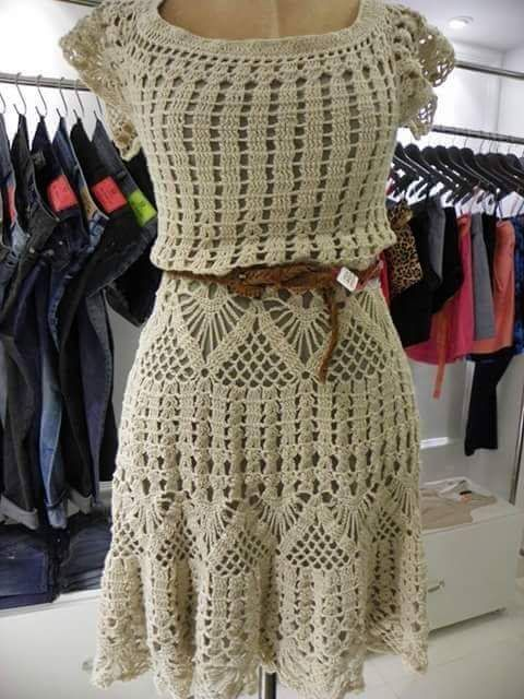 Irish crochet &: CROCHET DRESS