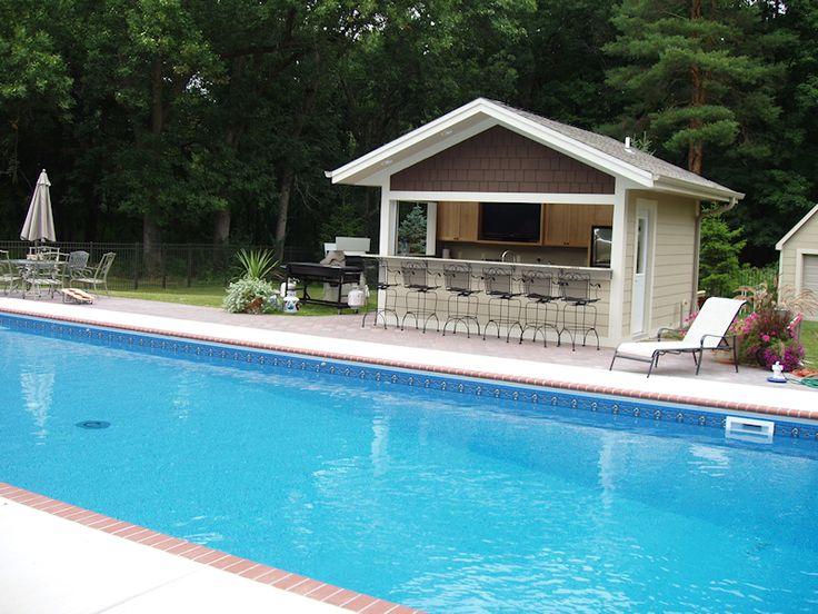 Pool House Bar Ideas 25 best pool cabana ideas on pinterest Pool Houses By Jj Construction