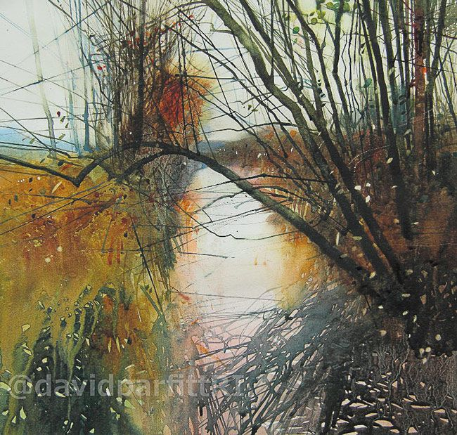 Listening to the reeds | Watercolour | 280mmx300mm | 13/03/2014