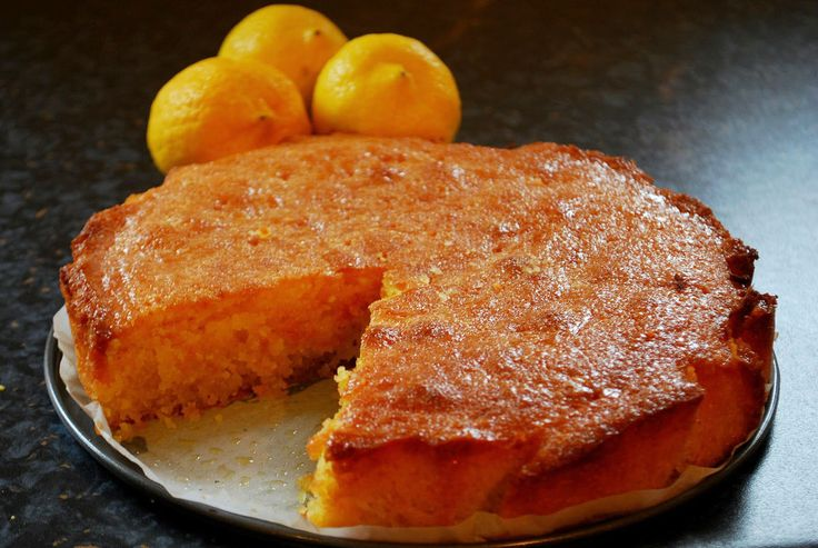 Recipe: Lemon and Coconut Polenta Cake