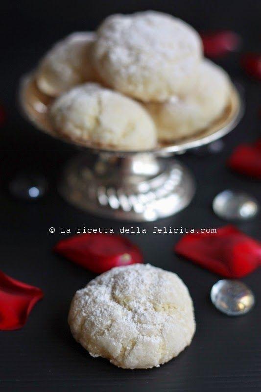 La ricetta della felicità: Biscottini della Sposa (biscottini delicati al limone)