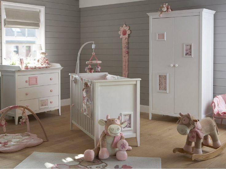 Decoración de habitaciones de bebés clásicas