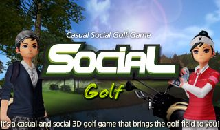"Enjoy Social Golf, a 3D golf game you can enjoy with your friends online~ ""Enjoy playing golf on your exclusive course with your friends!!!"" You can design your own golf courses by collecting various Hole Cards. Anyone can easily learn to play this game with casual characters and simple controls."