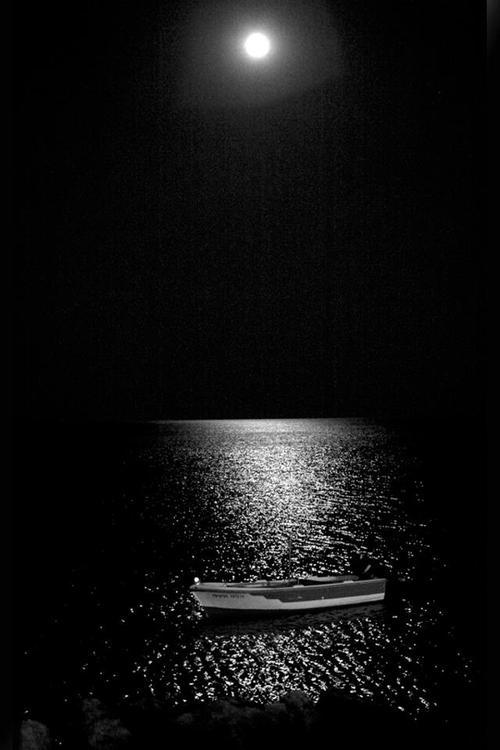 Πανσέληνος του Αυγούστου ~ Παλαιόχωρα, Χανιά Full moon of August at Paliohora, Chania Chania Crete by Nikos