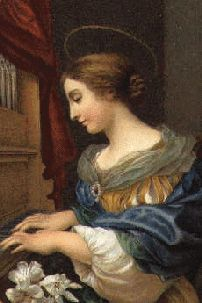 + St. Cecilia, Martyr, Patroness of Music ~ Rosaries and Chaplets by Via Rosa +