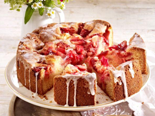 1000+ ideas about Erdbeer Rhabarber Kuchen on Pinterest ...