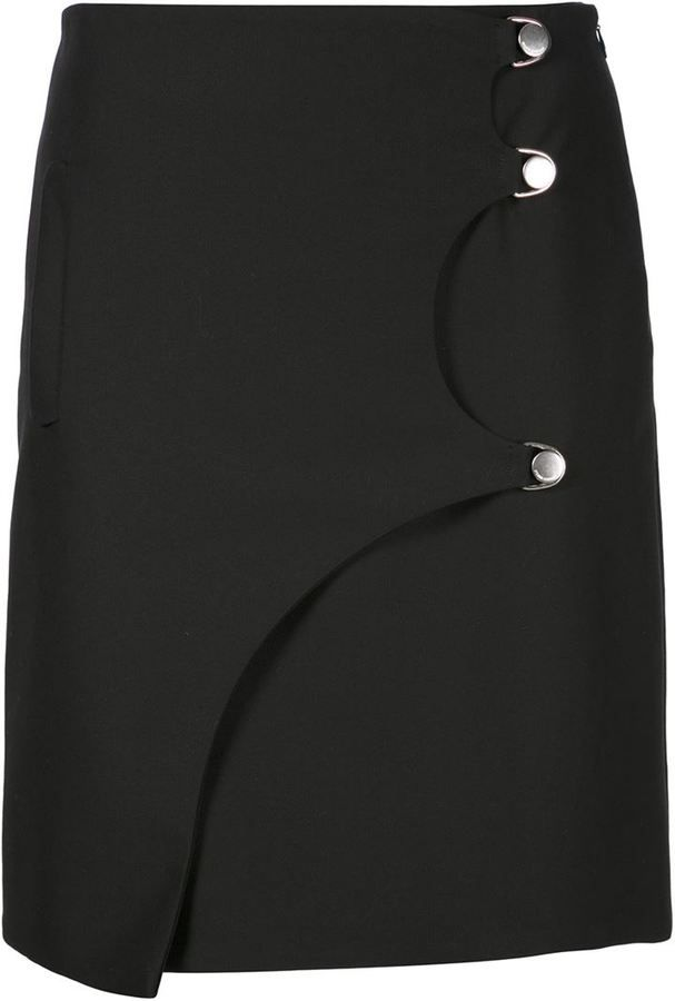 Opening Ceremony buttoned mini skirt