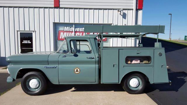 Vintage Southwestern Bell Telephone Service Truck Trucks Built