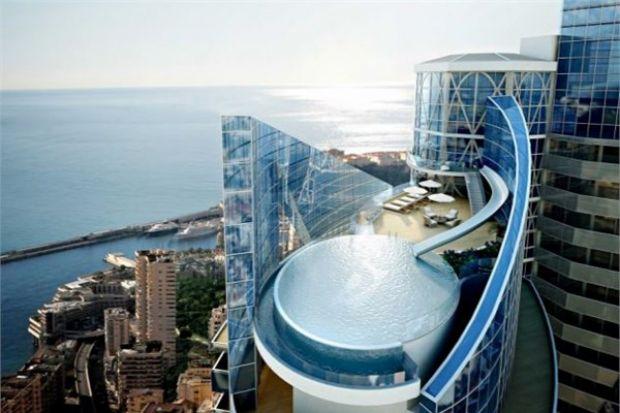flat house in Monaco
