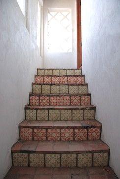 35 Best Terracotta Tile Stair Risers Images On Pinterest