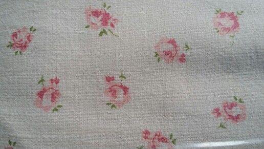 Petite Rose Print - Heart Designs Range - 100% Q300 Cotton.