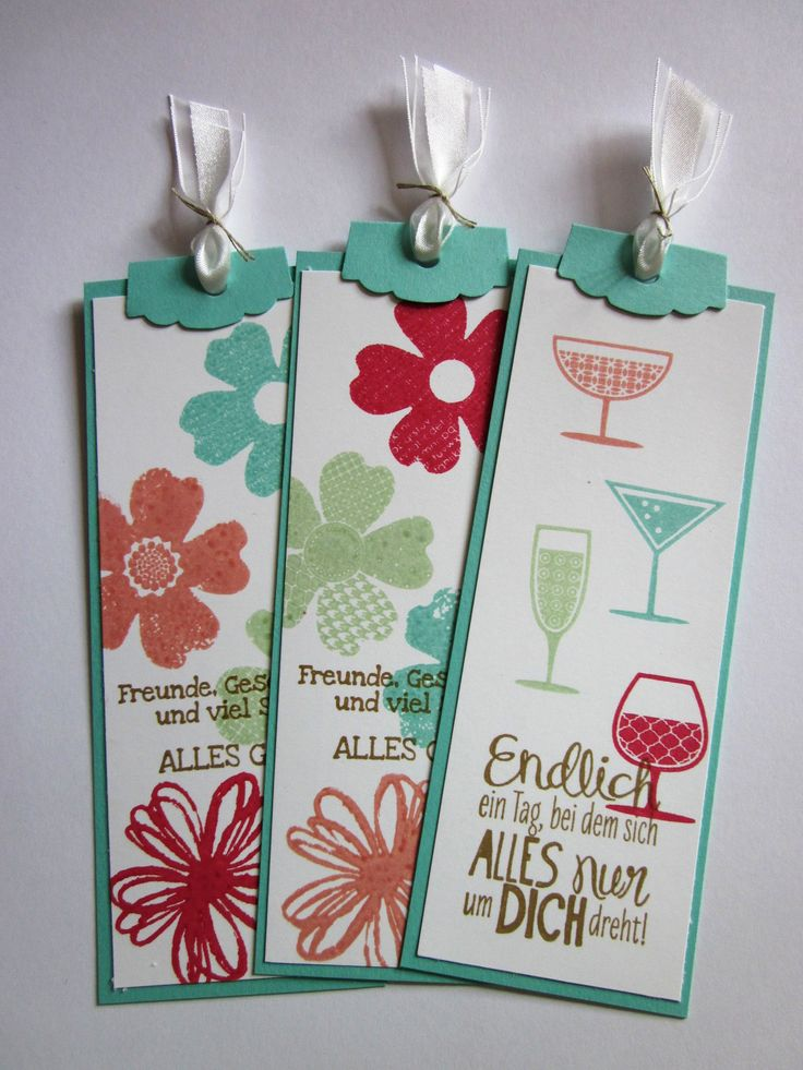 stampin up Lesezeichen InColors 2013