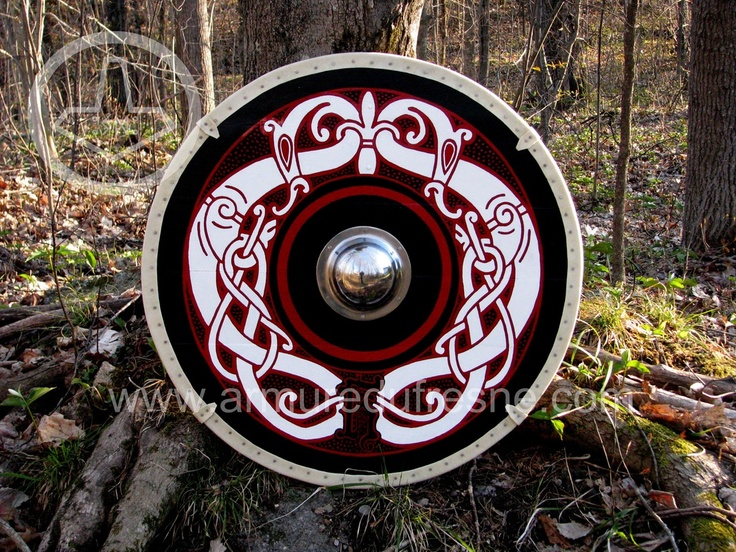 Round Shield - Armurerie Dufresne | Viking Weapons | Pinterest