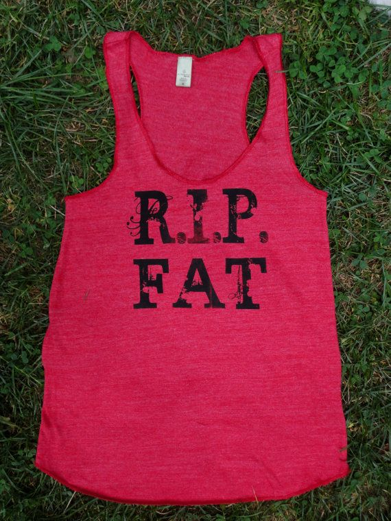 SALE  Red Work Out Tank Size LARGE by ReverenceApparel on Etsy, $21.99