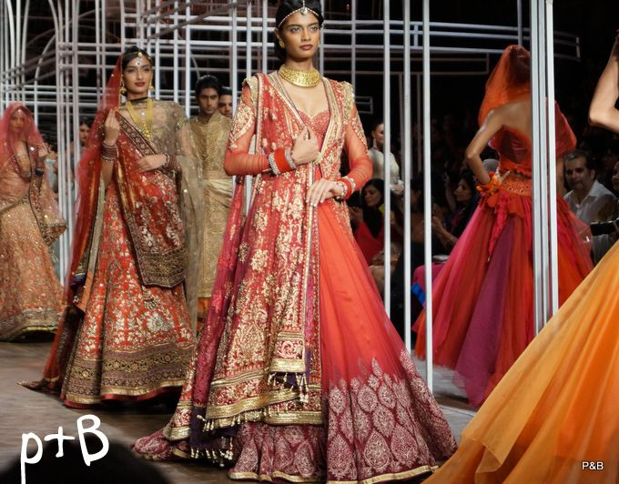 Tarun Tahiliani Bridal Collection at IBFW 2013 & My Experience !