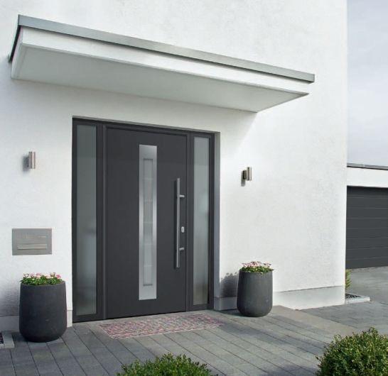Hörmann ThermoPlus Haustüren und ThermoPro Eingangstüren machen das Wohlfühlen mit guten Wärmedämmwerten einfach. - bauemotion.de