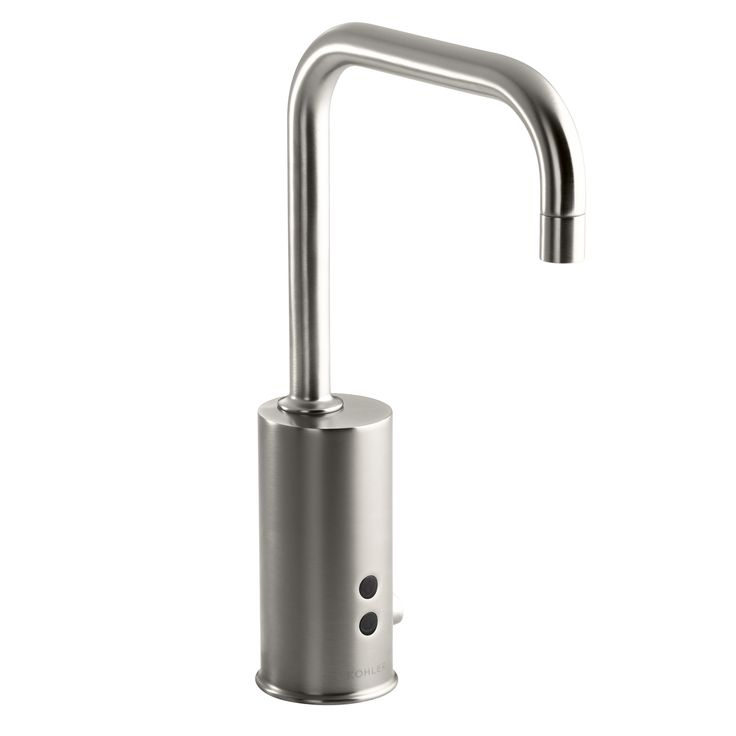 Gooseneck Single-Hole Touchless Dc-Powered Commercial Faucet with Insight Technology