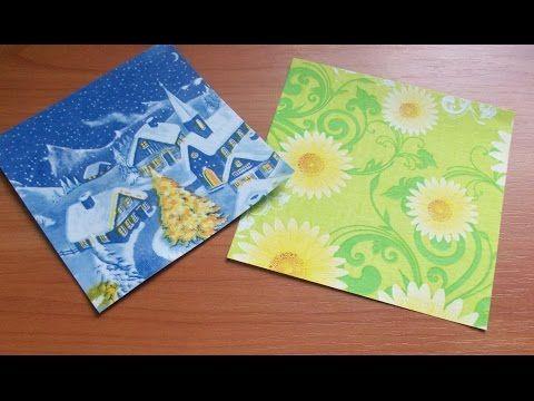 Как Сделать Бумагу Для Поделок Оригами Своими Руками. How To Make Paper Origami - YouTube
