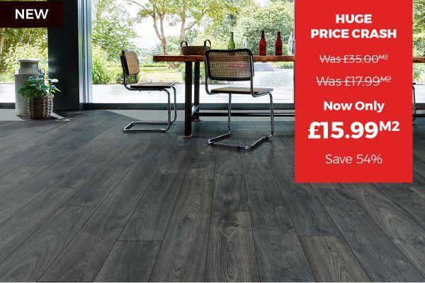 Series Woods Professional 12mm Laminate Flooring Raven Oak Laminate Flooring Flooring Oak Laminate Flooring
