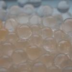 Orange selvlysende vandperler, 10G, 15,-