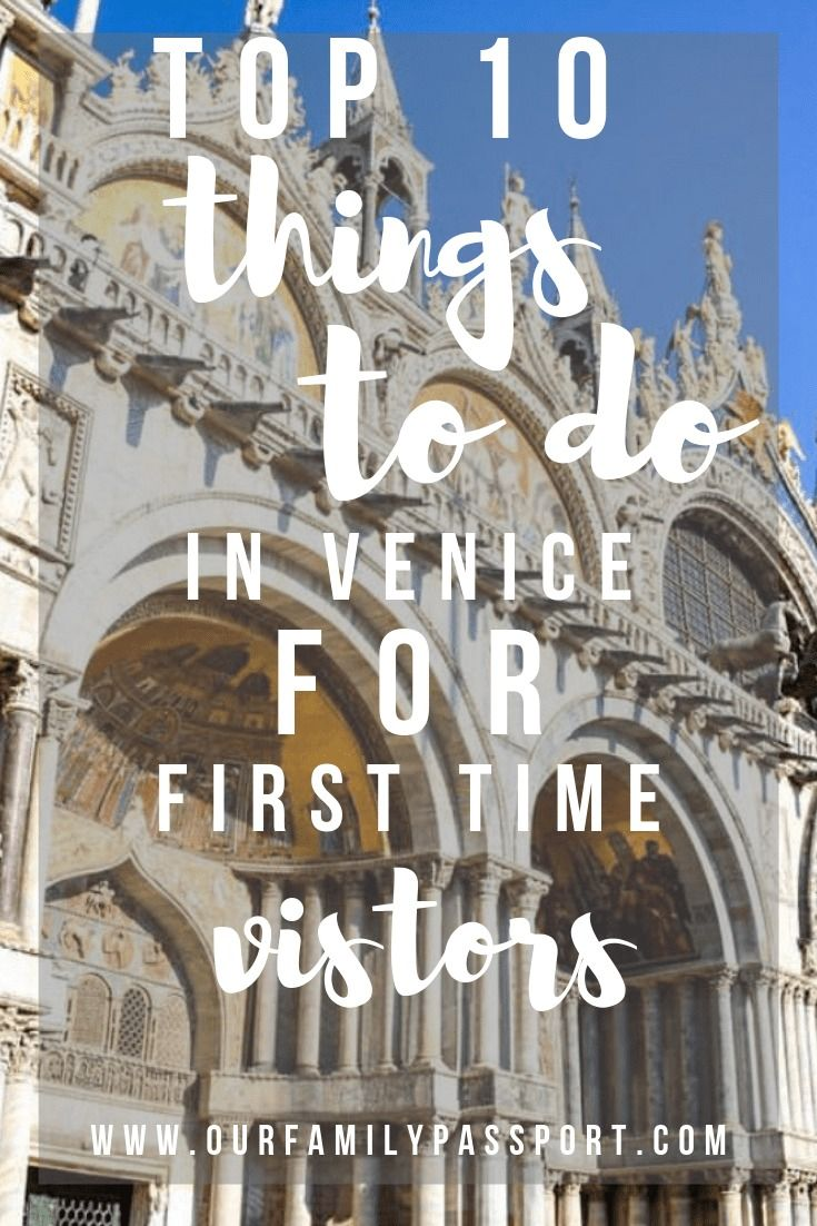 2c891b2174d22b Top 10 Venice Activites for First-Time Visitors
