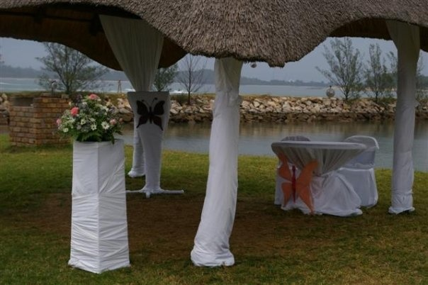 My wedding, planned and organised by my very talented sister