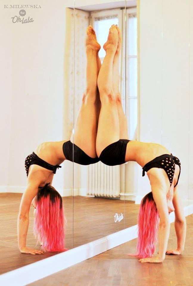 Ania Szymoniak #poledance #inctructor #Ohlala