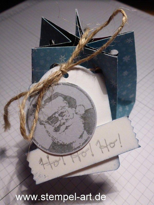 Sternbox mit dem Stampin up Stanz - und Falzbrett für Geschenktüten nach StempelART, bebilderte Anleitung, Tutorial (18)