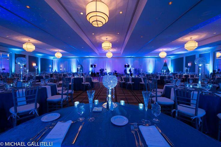 Ice Blue Winter Wedding Theme