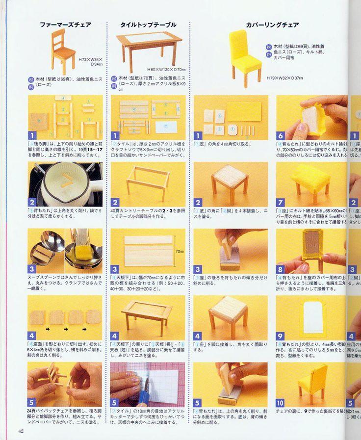 Dollhouse Miniatures Diy Tutorials: 17 Best Images About Miniature Tutorials On Pinterest