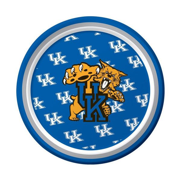 Univ of Kentucky 7 inch Round Lunch Plates/Case of 96