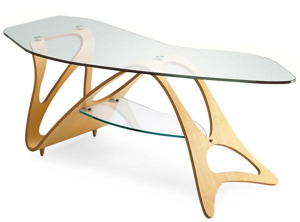 Arabesco Coffee Table (1949) by Carlo Mollino -- manufacturer Zanotta