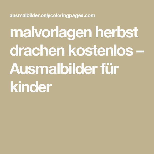 17 best ideas about Malvorlagen Herbst on Pinterest | Ausmalbilder ...