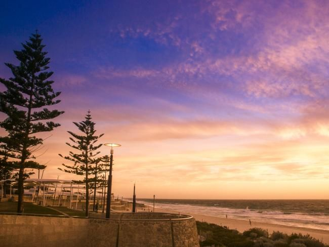 Scarborough Beach, Western Australia.