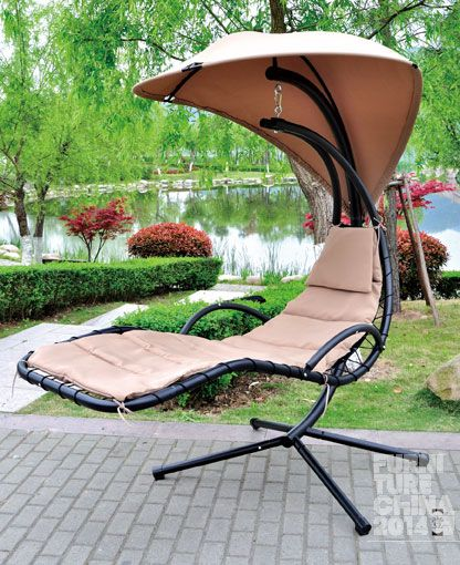 "swing chair (AN6119) - brand ""XILAISEN"" from LINHAI ALWAYS-NEW LEISURE - Zhejiang, China - N4H17 (2014)"