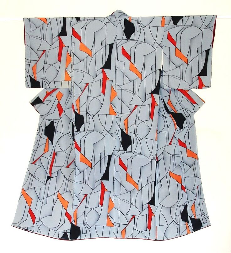 Meisen kimono design from 1930s - 1950s. Haruko Watanabe. ~AmyLH~