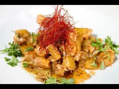 Pollo con Piña - Recetas de Cocina Casera - Recetas fáciles y sencillas