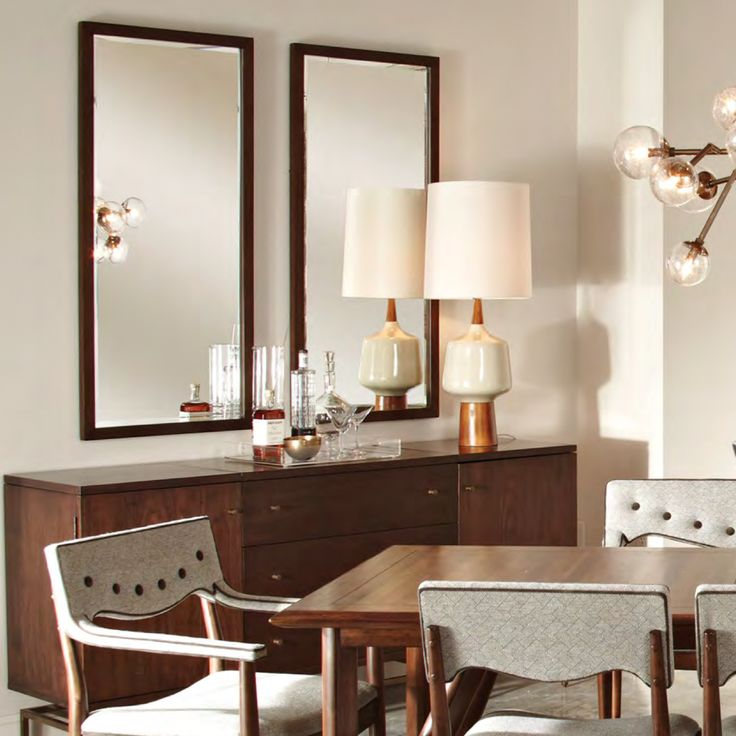 A Pair Of My Bromham Tall Mirrors Make A Subtle, Yet Effective Interior  Statement,. Tall MirrorMirrorsDining Room BuffetDining ...