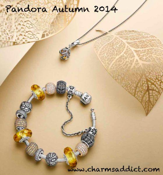 Pandora Golden Pave Lights + Inspiration Spacer