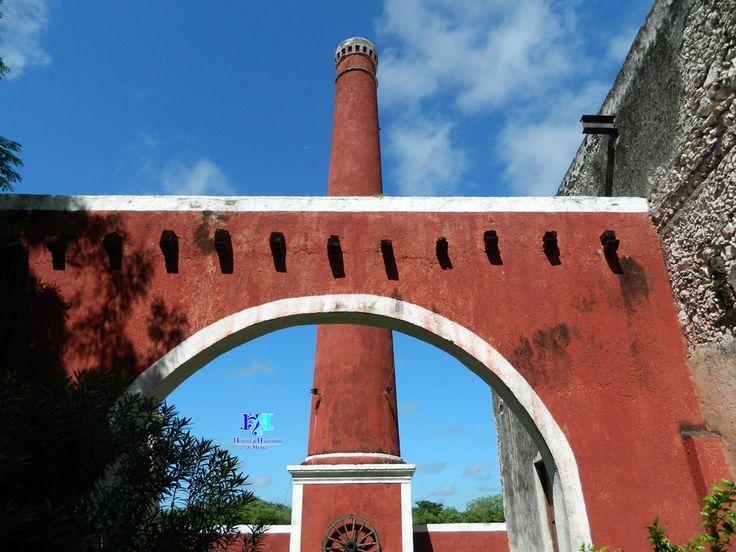 Chimenea o Chacuaco de Hacienda en Mérida Yucatán México