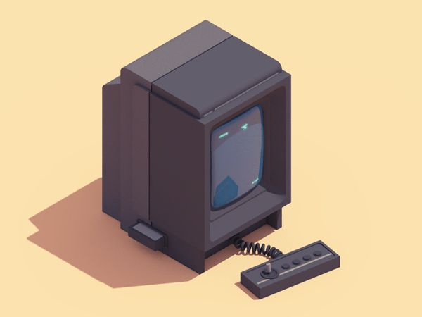 Illustrator/animator Guillaume Kurkdjian pays tribute to 90s electronics with a terrific series of isometric animated gifs. He also runs a great little blog called WERTN, where he shares lots of good music. More animated gifs below.               … Continue reading →