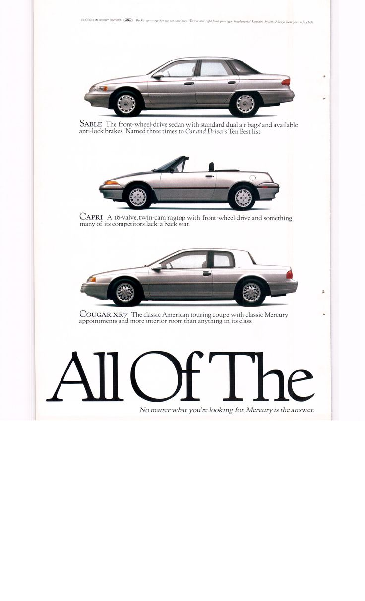 1993 mercury villager tracer grand marquis ad 1 national geographic march 1993